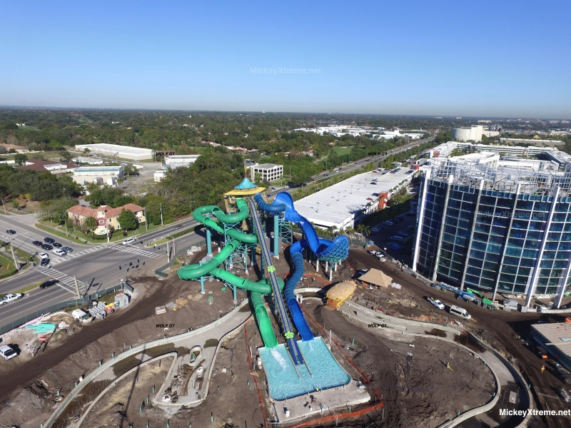 New Aerials of Volcano Bay Water Park at Universal Orlando