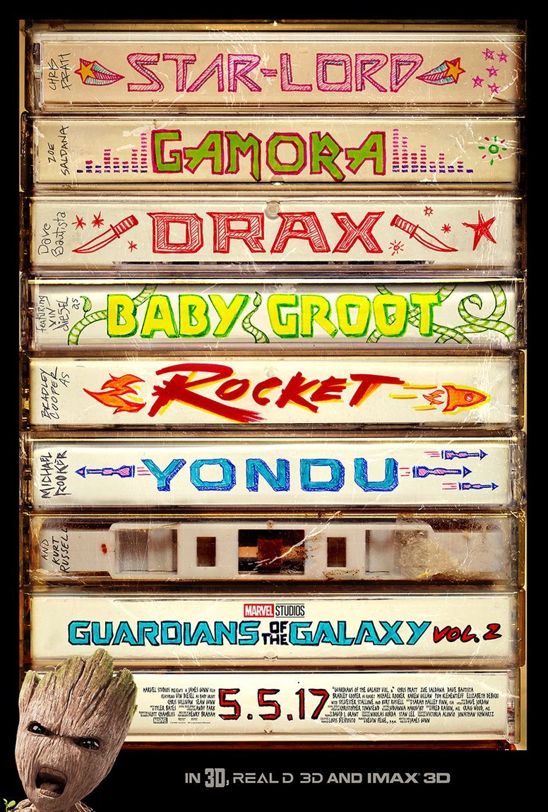 New Guardians of the Galaxy Vol.2 Poster and Superbowl TV Spots