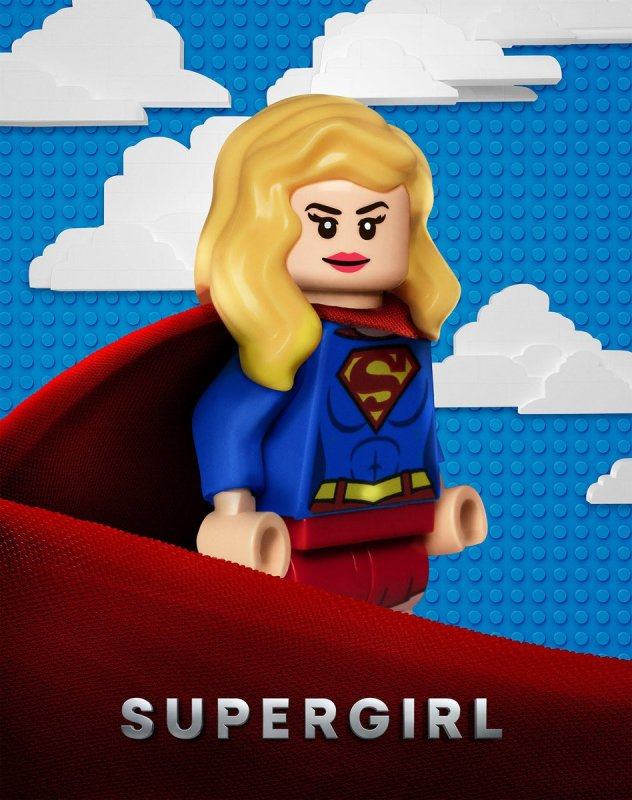 New DCTV LEGO Posters