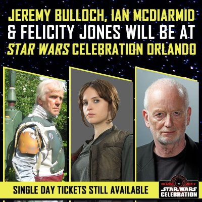 Star Wars Celebration adds Talent to line-up