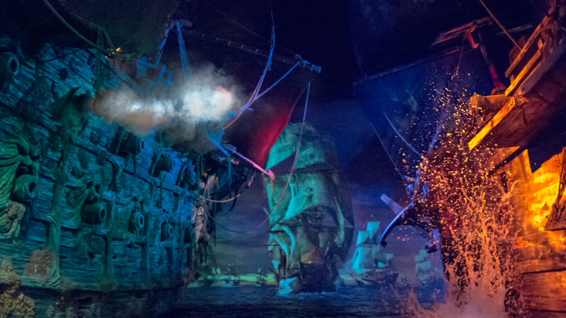 POTC: Battle for the Sunken Treasure at Shanghai Disneyland Receives Industry Aw