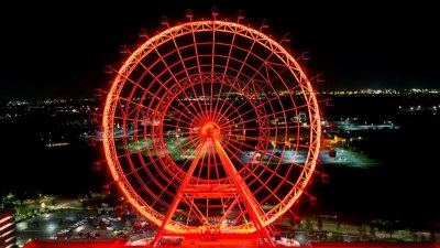 Bright Lights & Bubbly on The Coca-Cola Orlando Eye