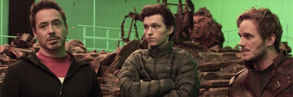 First featurette from Avengers: Infinity War production set