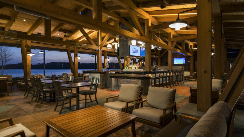 Geyser Point Bar & Grill Opens at Disney's Wilderness Lodge