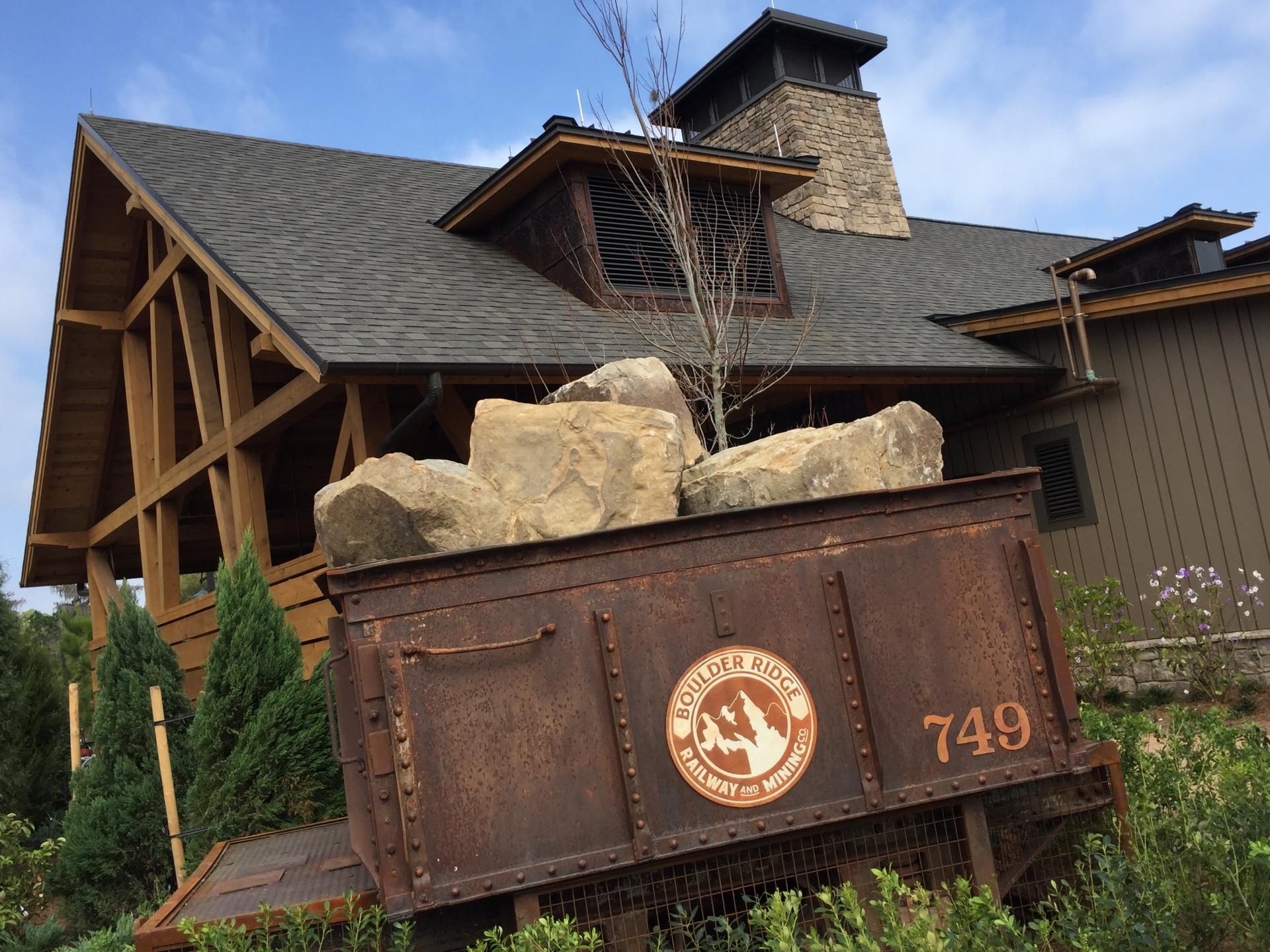 Boulder Ridge Villas at Wilderness Lodge Construction Update