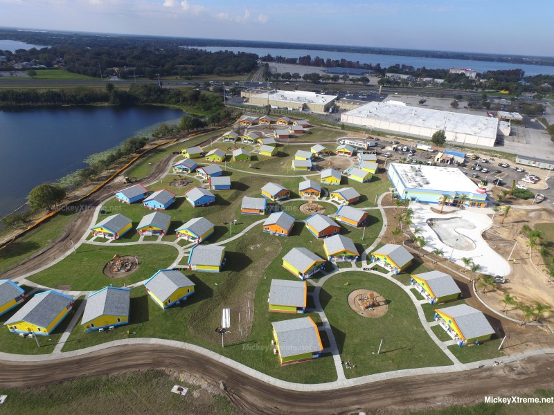 New Aerials of LEGOLAND Florida Resort Beach Retreat