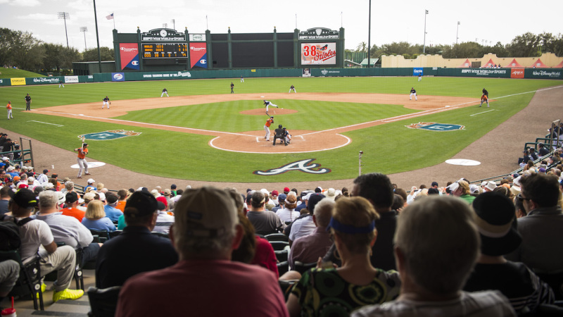 Atlanta Braves Celebrate 20 Years of Spring Training at ESPN Wide World of Sports Complex