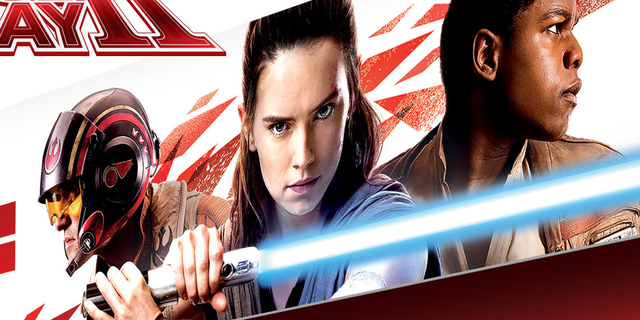 First Look at Poe, Rey and Finn in Star Wars The Last Jedi