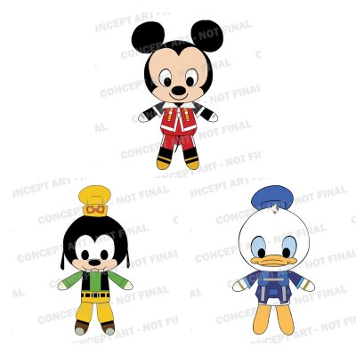Toy Fair NY Reveals: Kingdom Hearts Plushies