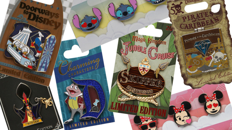 New Pins at Disney Parks
