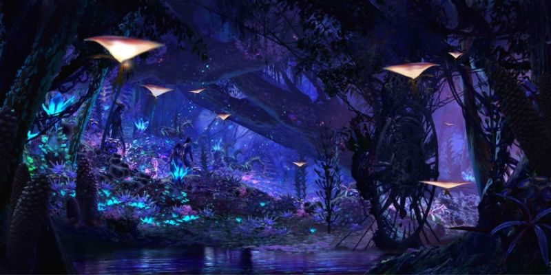 Na'vi River Journey Teaser at Pandora: World of Avatar