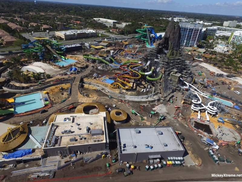 The latest set of Aerials from Volcano Bay Water Park