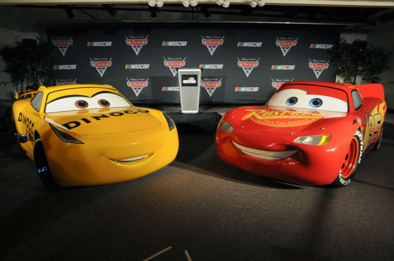 """It's a Good Year to be a """"Cars"""" Fan at NASCAR"""