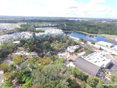 Latest aerials of Pandora show beautiful addition to Animal Kingdom
