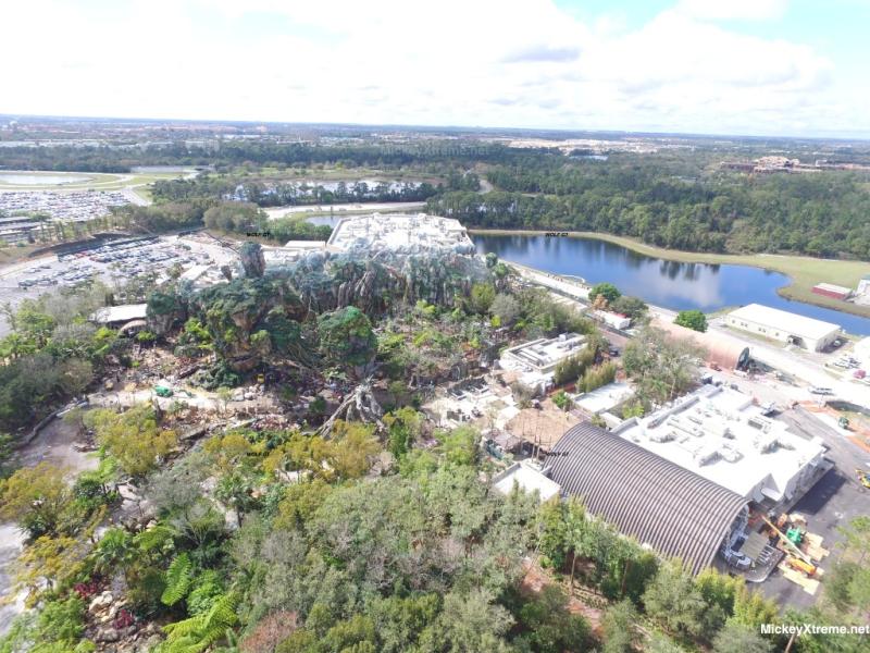 Latest aerials of Pandora show beautiful addition to Animal Kingdom