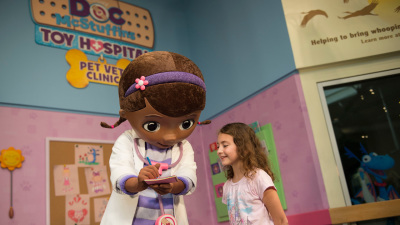 Doc McStuffins Makes Meet & Greet Debut at Disney's Animal Kingdom Park