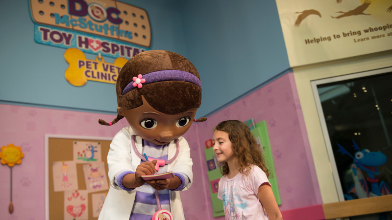 Doc McStuffins Makes Meet & Greet Debut at Disney's Animal Kingdom Park