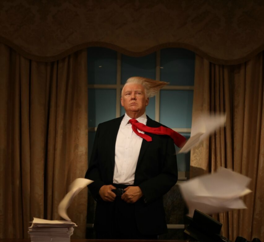 Madame Tussauds Orlando Recreates Powerful President Trump TIME Magazine Cover