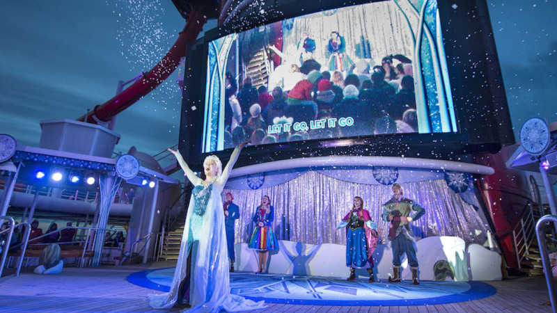 'Frozen' Fun Returns Aboard Disney Cruise Line This Summer