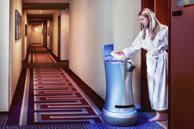 'Relay' Room Service Robot Now Testing in Cabana Bay Beach Resort at Universal Orlando