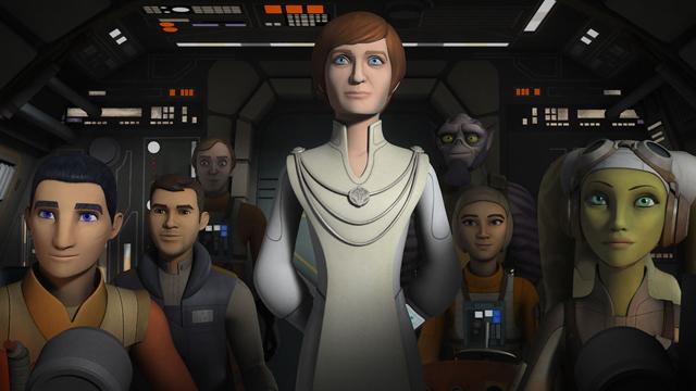 Mon Mothma Returns in a Star Wars Rebels