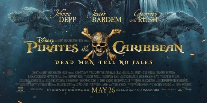 NEW Pirates of the Caribbean 'Dead Men Tell No Tales' Poster and Trailer (Updated)