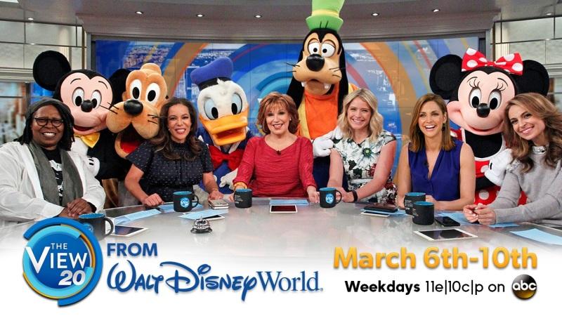 'The View' Co-Hosts Prep for Their Walt Disney World Resort Trip!