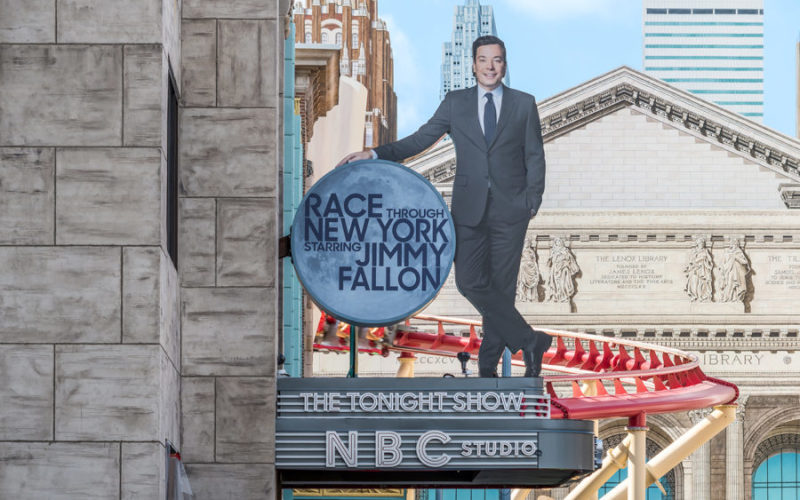 """Race Through New York Starring Jimmy Fallon"" Soft Opens"