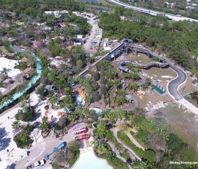 "New Aerial of ""Miss Adventure Falls"" at Disney's Typhoon Lagoon"