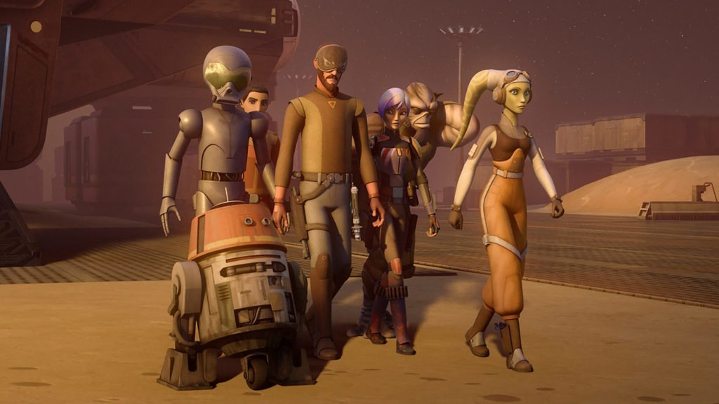 Star Wars Rebels to Return for Fourth Season this Fall