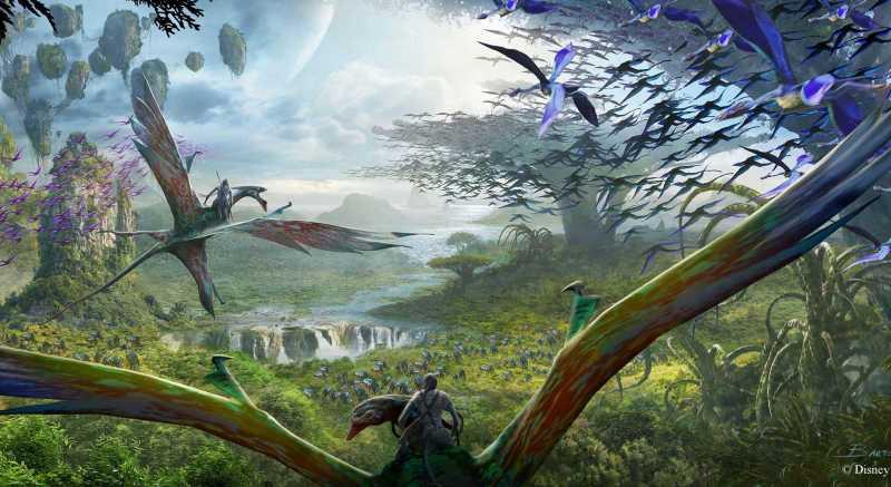 New Video of Pandora - The World of Avatar at Disney's Animal Kingdom