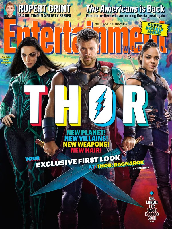 Entertainment Weekly shows Thor with a Makeover