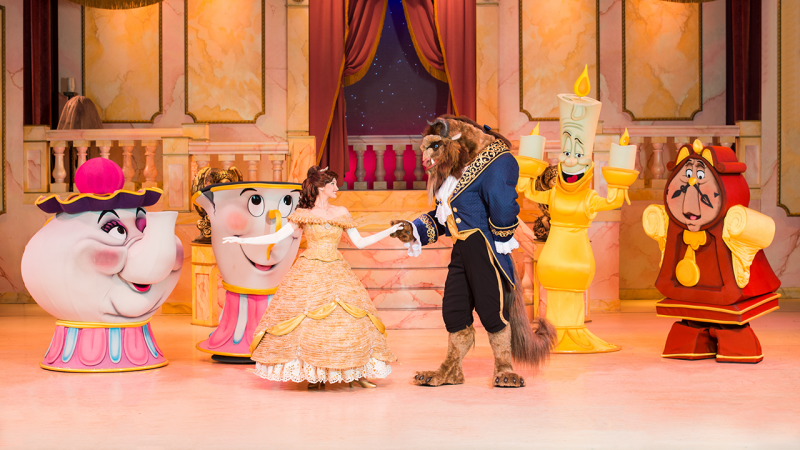Celebrate the Upcoming Release of 'Beauty and the Beast' with Disney PhotoPass Service