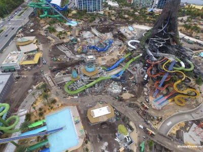 New Volcano Bay Water Park Aerials