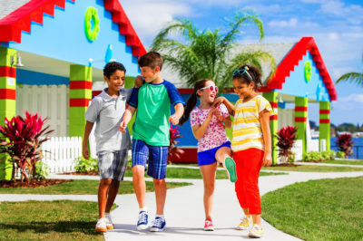 From your car to your cove in minutes at LEGOLAND Beach Retreat!