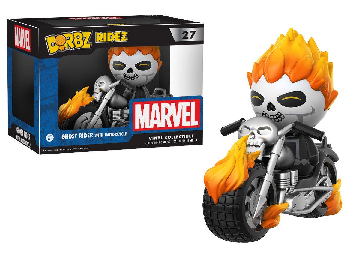 Coming Soon: Ghost Rider Dorbz Ridez, Fallout Vault Boy Dorbz!
