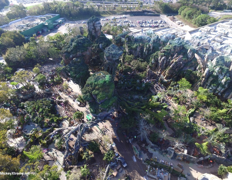 The Latest Aerials of Pandora World of Avatar