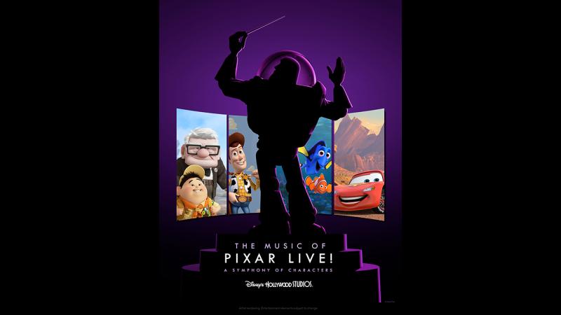 'The Music of Pixar Live!' Debuts at Disney's Hollywood Studios This Summer