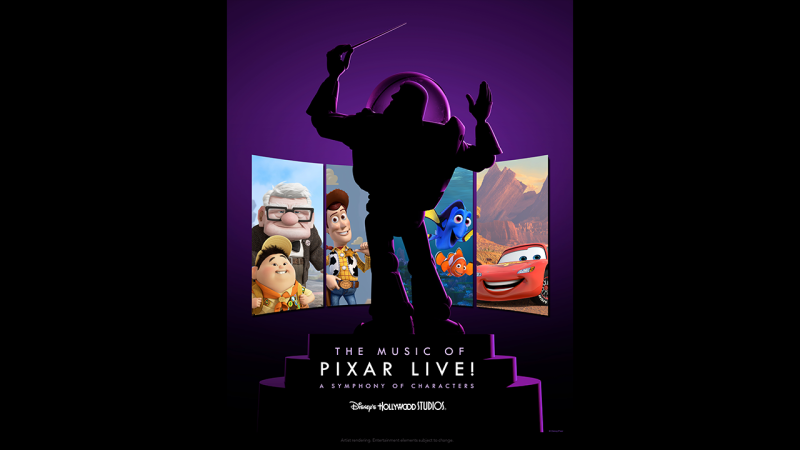 'The Music of Pixar Live!' Debuts at Disney's Hollywood Studios This Summer