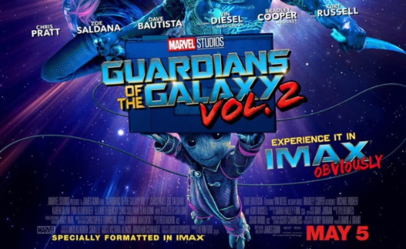 New Guardians of the Galaxy Vol.2  IMAX Poster