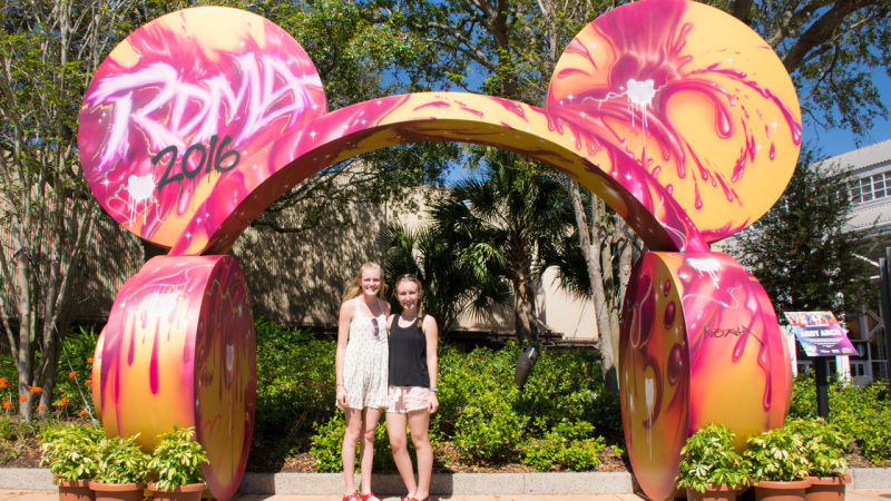 Check Out the Radio Disney Arch During Your Next Visit to Disney Springs