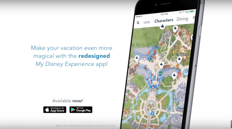 New My Disney Experience app Launches