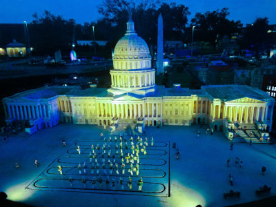 LEGOLAND® Florida Resort celebrates Autism Awareness Month with 'Light It Up Blue' campaign and fund