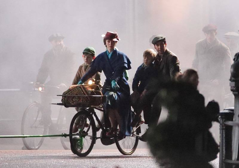 New stills from Mary Poppins Returns