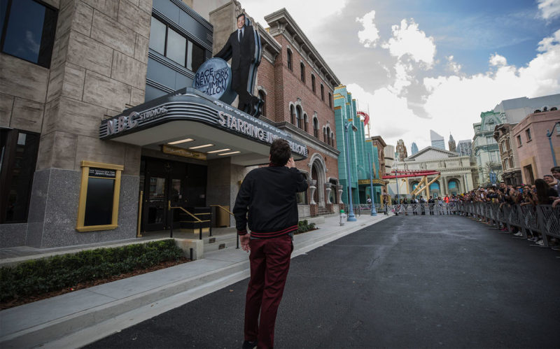Jimmy Fallon Tours His Brand New Attraction at Universal Orlando