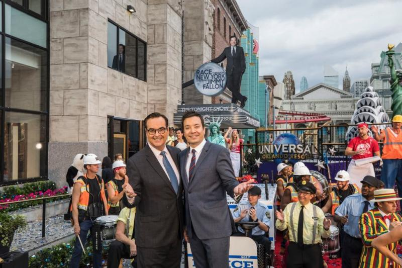 """Race Through New York Starring Jimmy Fallon"" Officially Opens"