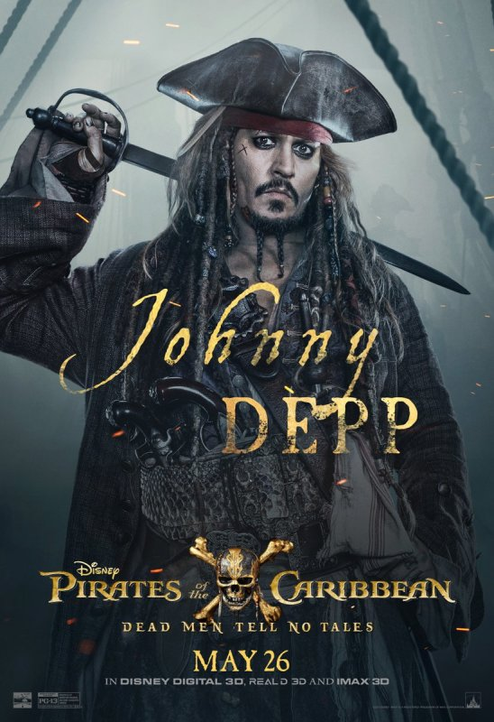 Sneak Peek, Posters & Sweepstakes Inspired by Disney's 'Pirates of the Caribbean: Dead Men Tell No T
