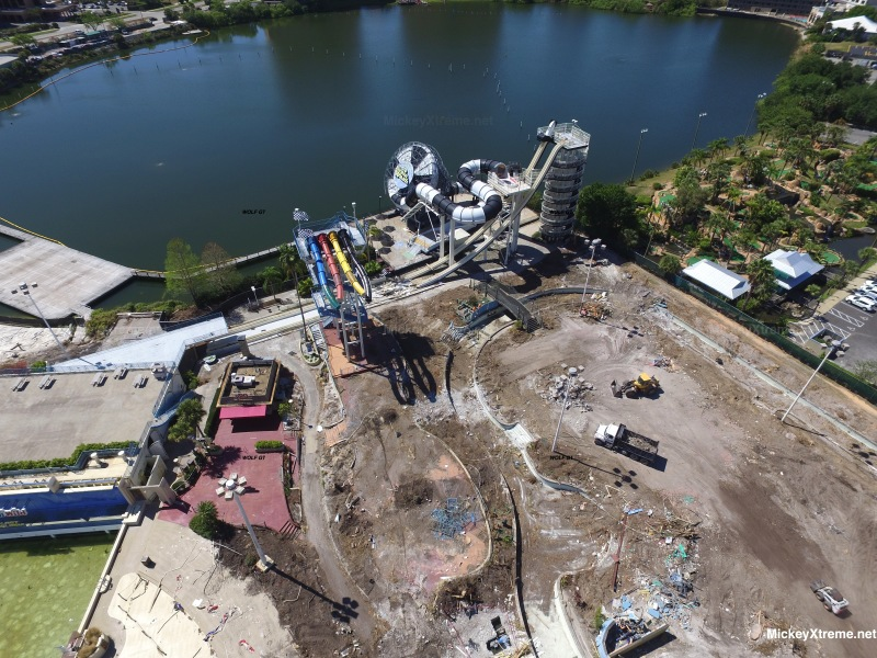 Latest Aerials of the Former Wet n' Wild