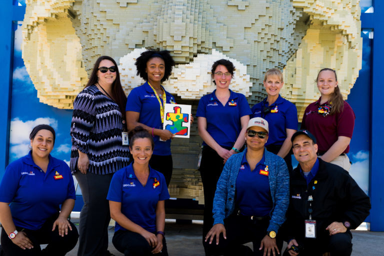 Meet the team working to improve LEGOLAND Florida Resort for guests on the autism spectrum