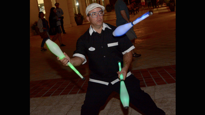 It's International Juggler's Day – Celebrate with Performer Randy Cabral at Disney Springs